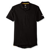 Caterpillar 25302BK Caterpillar Classic Cotton Polo Black