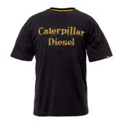 CAT 27083BK CAT Diesel T-Shirt - Black