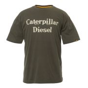 CAT 27083M CAT Diesel T-Shirt - Moss Green