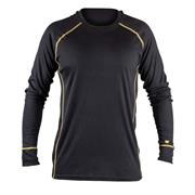 Caterpillar  Caterpillar Thermo Long Sleeve Top - Black/Yellow