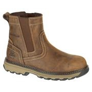 Caterpillar PELTONBN Caterpillar Pelton Dealer Safety Boots- Brown