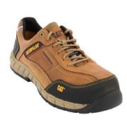 Caterpillar STREAMLINE Caterpillar Streamline Leather Safety Trainers - Brown