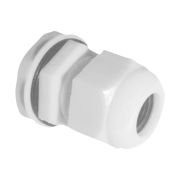 Centaur HAM20W PVC 20mm White Cable Gland - Pack of 10