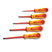 CK T4729 Triton XLS Insulated SL/PZ 5 Piece Screwdriver Set