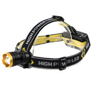 CK T9621R C.K Rechargeable LED Head Torch 200 Lumens