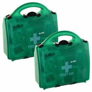 CMS BS125PK2 First Aid Kit (Small) Pack of Two
