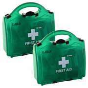CMS BS25100PK2 First Aid Kit (Medium) Pack of Two