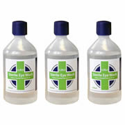 CMS EYEW500MLPK3 CMS Eye Wash Solution 500ml Triplepack
