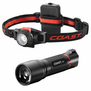 Coast HPL/HL7 Coast LED Torch Plus FREE HL7 LED Head Torch