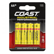 Coast IPAA10PC Industrial Performance AA 1.5v Alkaline Batteries - Pack of 10