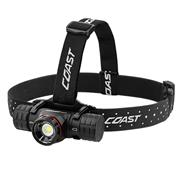 Coast XPH34R Coast XPH34R Rechargeable Dual Power Head Torch - 2400 Lumens