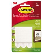 3M  3M Command Picture Hanging Strips, Medium (Pack 3)