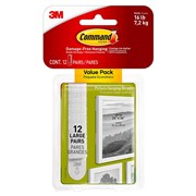 3M  3M Command Large Picture Strips - Pack of 4