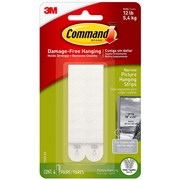 3M  3M Command Narrow Picture Hanging Strips (Pack 4)