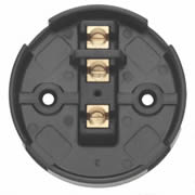 Contactum CAC2730 30A 90mm 3-Terminal Box Black - Pack of 10