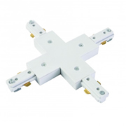 Culina CUL21649 Tor 240v Single Circuit Track X Connector - White