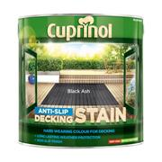 Cuprinol  Cuprinol Anti Slip Decking Stain Black Ash 2.5 Litre