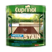 Cuprinol  Cuprinol Anti Slip Decking Stain Cedar Fall 2.5 Litres
