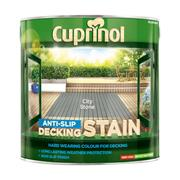 Cuprinol  Cuprinol Anti Slip Decking Stain City Stone 2.5 Litre