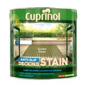 Cuprinol  Cuprinol Anti-Slip Decking Stain Golden Maple 2.5 Litre