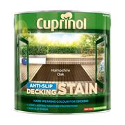Cuprinol  Cuprinol Anti-Slip Decking Stain Hampshire Oak 2.5 Litre