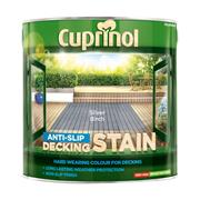 Cuprinol  Cuprinol Anti-Slip Decking Stain Silver Birch 2.5 Litre