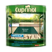 Cuprinol  Cuprinol Anti-Slip Decking Stain Vermont Green 2.5 Litre