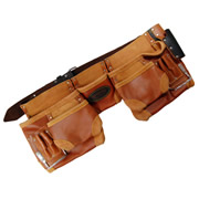 Cutting Edge CEOTSP11P Split Oil Tan Leather Tool Apron