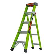 Little Giant King Kombo Industrial 5 tread 3-in-1 Extension Ladder