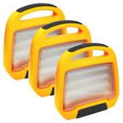 Defender E709162PK3 Pack of 3 Defender LED Floor Light V2 110v