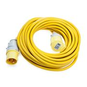 Defender  Defender 110V 14M 2.5mm 16A Yellow Loose Lead