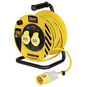 Defender  Defender 110V 25M Cable Reel 1.5mm 2 Way
