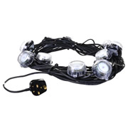 Defender E89331 Defender LED Festoon Lights 22m 240v