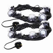 Defender E89331PK2 Defender LED Festoon Lights 22m 240v - Pack Of 2