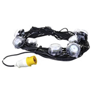 Defender E89332 Defender LED Festoon Lights 22m 110v