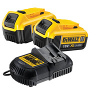 Dewalt 4AHPACK Dewalt 4AHPACK 18V 4.0Ah Battery And Charger Pack