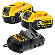 Dewalt 5AHPACK Dewalt 5AHPACK 18V 5.0Ah Battery And Charger Pack