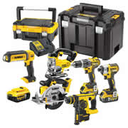 Dewalt 6DCH Dewalt 18v Lithium-Ion 6 Piece Package