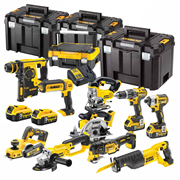 Dewalt BXR10P Dewalt 18v Lithium-Ion 10 Piece Kit