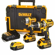 Dewalt BXR2P3 18v Li-ion 5.0Ah Brushless 2 Piece Pack