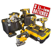 Dewalt BXR6T Dewalt 18v 4.0Ah XR Li-ion 6 Piece Package