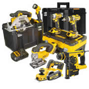 Dewalt DEWBXR7T Dewalt 18v Cordless 7 Piece Package