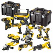 Dewalt BXR9P 18v Li-ion Cordless 9 Piece Kit