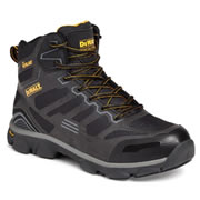 Dewalt CROSSFIRE Dewalt Crossfire Safety Boots (Black)