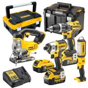 Dewalt DC4B Dewalt 18v Li-ion Cordless 4 Piece Kit