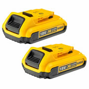 Dewalt DCB183 Dewalt XR 18v 2.0Ah Li-ion Battery - Pack of Two