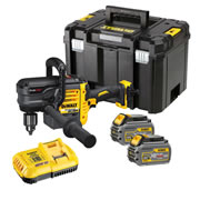 Dewalt DCD460T2-GB 54v XR FLEXVOLT Stud and Joist Drill with 2 x 54v Batteries