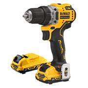 Dewalt DCD701D2 Dewalt DCD701D2 12v XR Brushless Drill Driver with 2 x 2Ah Batteries, Charger and Case