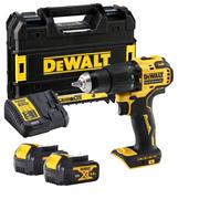 Dewalt DCD709M2T Dewalt DCD709M2T 18V XR Brushless Combi Drill with 2x 4Ah Batteries & Case