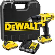 Dewalt DCD710D2 12v XR Drill Driver with 2 x 2Ah Batteries, Charger and Case